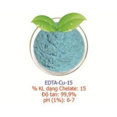 ĐỒNG CHELATE (CU-EDTA-15) – Vi lượng đồng – xúc tiến hình thành vitamin…