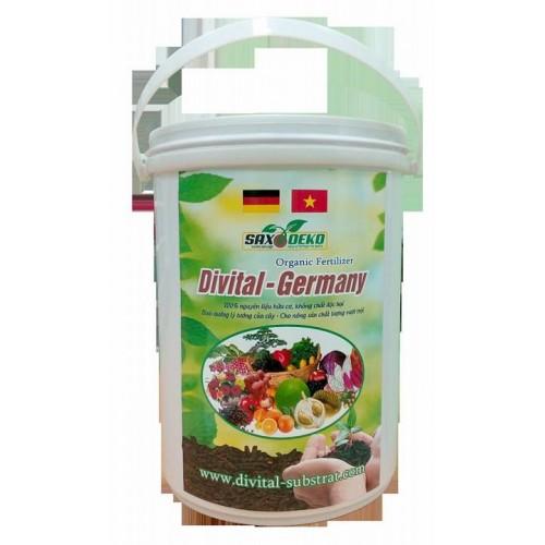 Phân bón Hữu cơ vi sinh – TN  Divital – Germany