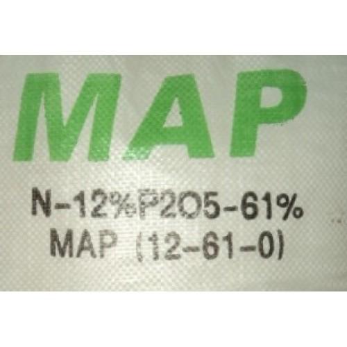 Phân bón dưỡng cây trồng MAP 12-61-0  Mono Amonium Phosphate