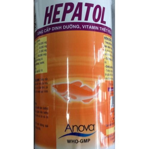 Hepatol – Cung cấp dinh dưỡng vitamin thiết yếu, giải độc gan thận